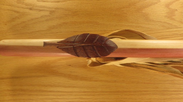 Mahogany-Leaf-Totem-Top