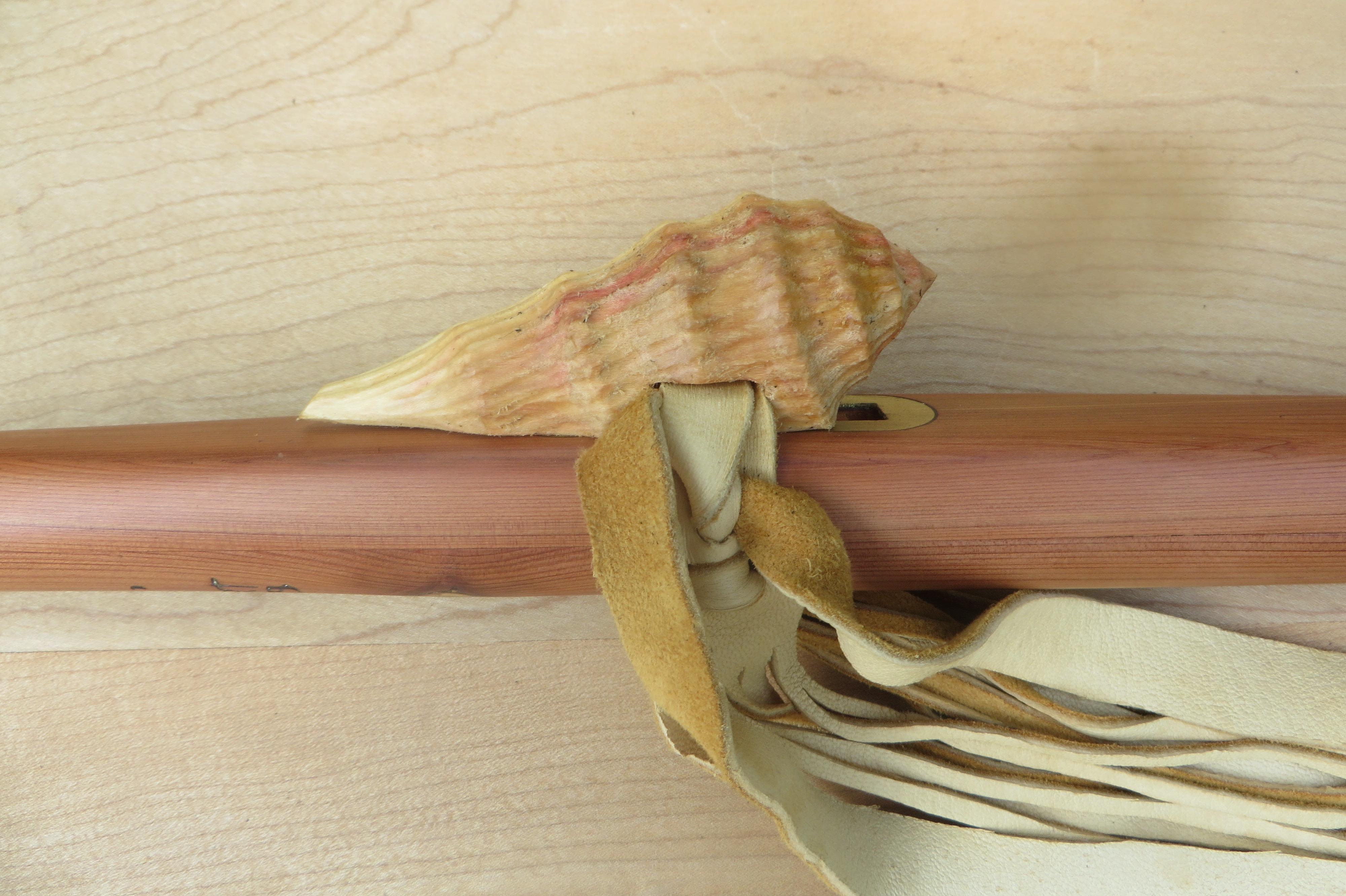 Aromatic Cedar Shell Totem