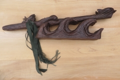 Black Walnut E Fish Totem