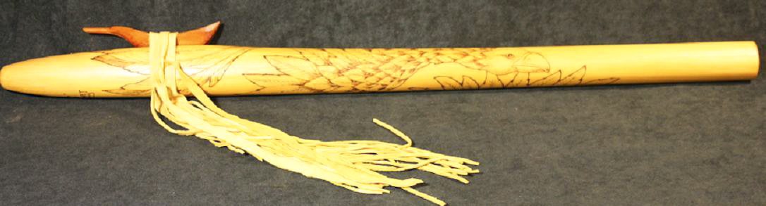 Burned Yellow Cedar - Eagle - full C