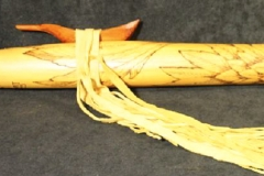 Burned Yellow Cedar - Eagle - full C