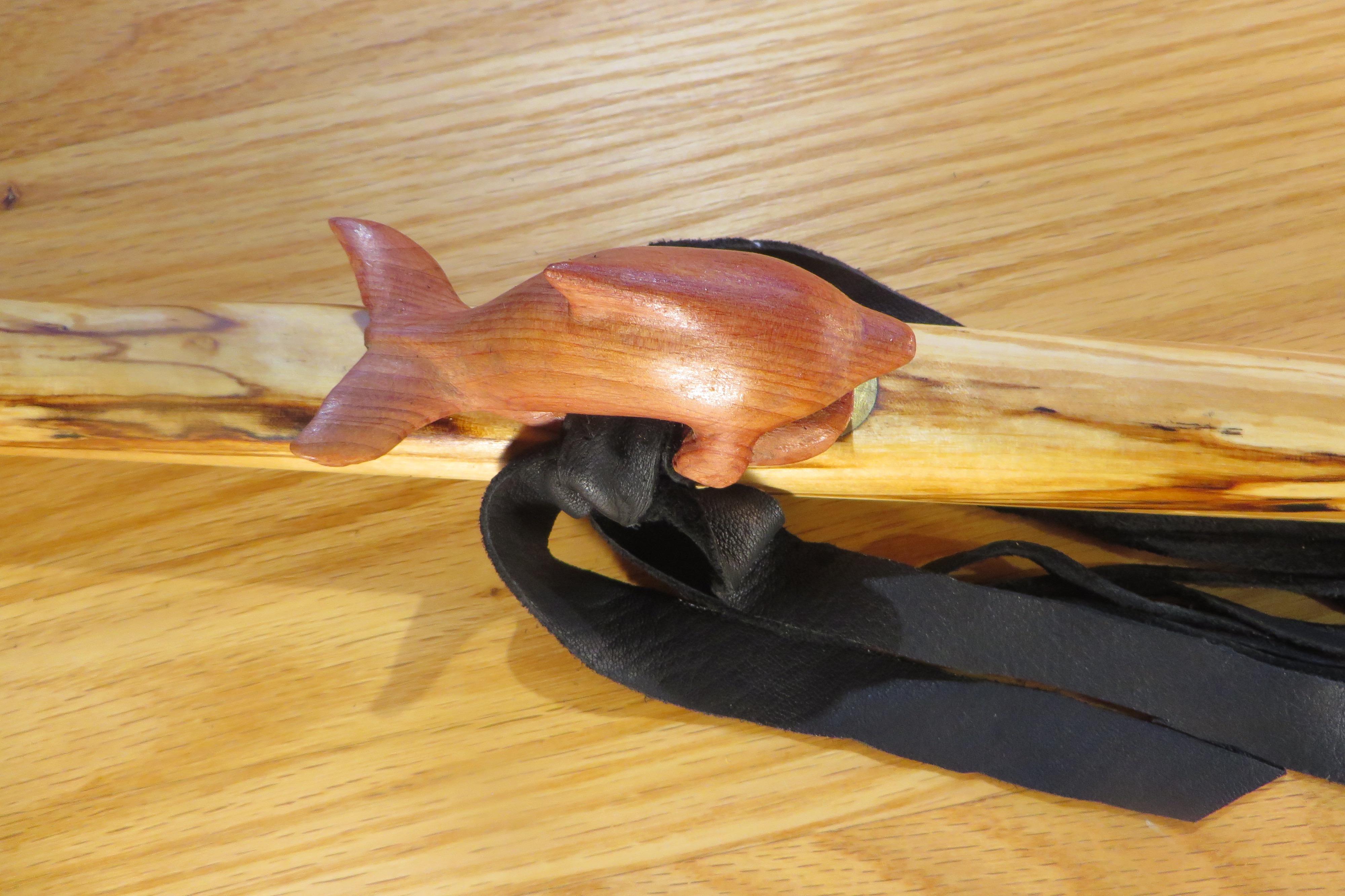 Aromatic Cedar Dolphin Totem Top