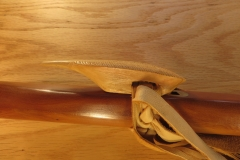 Yellow Cedar Feather Totem side