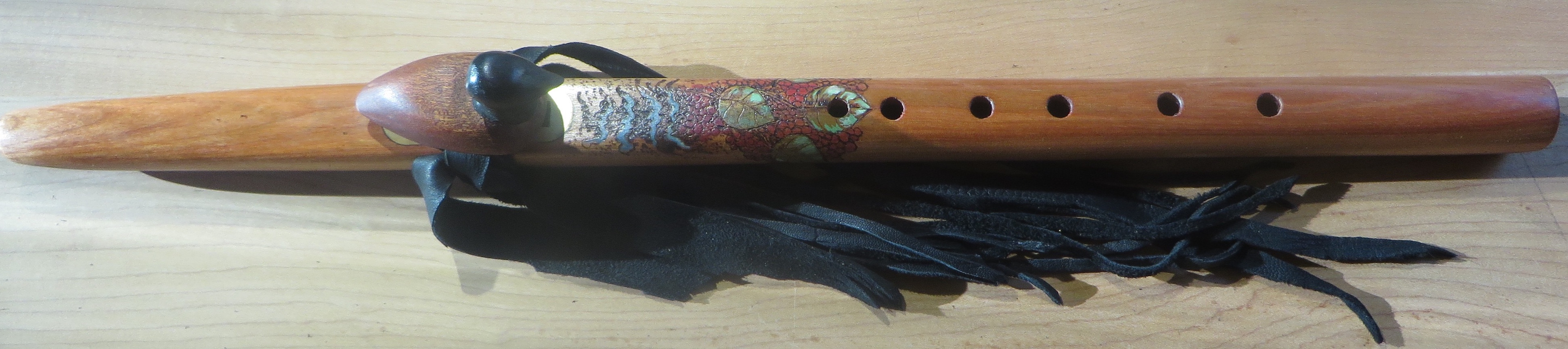 Cherry:Pear A Loon Totem Painted $450.00